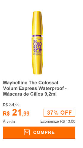 Maybelline The Colossal VolumExpress Waterproof - Máscara de Cílios 9,2ml